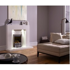 MARBLE WHITE FIREPLACE HAVANNA