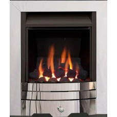 CAPELLO MULTI-FLUE GAS FIRE CHROME