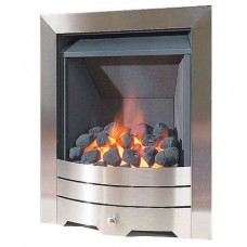 CAPELLO MULTI FLUE GAS FIRE BRUSHED STEEL