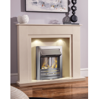 MARBLE CREAM ELECTRIC FIRE MELBORNE