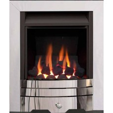 ALBION MULTI-FLUE GAS FIRE CHROME
