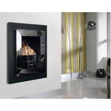 ALEDA PORTRAIT CHROME INSET GAS FIRE
