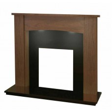 WALNUT HOXTON FIREPLACE FOR ELECTRIC FIRES