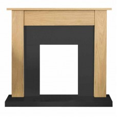 TURIN ELECTRIC OAK FIREPLACE