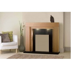 Fireplace Surround - The Como in Oak for Electric Fires