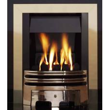 ECO4 BRASS SLIMLINE GAS FIRE