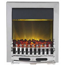 Electric Fire - The Blenheim In Chrome