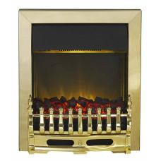 Electric Fire - The Blenheim In Brass Finish