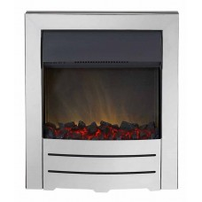 Electric Fire - The Colorado, Chrome Finish