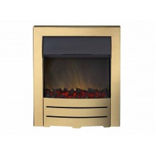 Electric Fire - The Colorado In Gold Finish