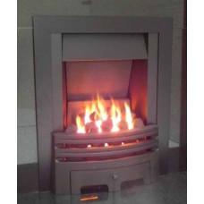 ECO2 FULL DEPTH GAS FIRE 4kw Slide Control Black