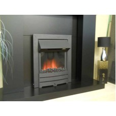 Electric Fire - The Colorado, Black Finish