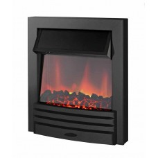 Electric Fire - The Elise in Black Finish