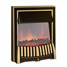 Electric Fire - The Elan Brass Fire