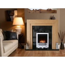 OAK COMO MERIDIAN H.E. GAS FIRE GRANITE FIREPLACE